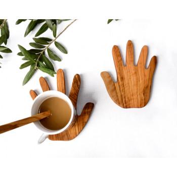 Zeytin Ağacı Eller Bardak...