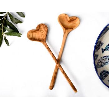 Zeytin Ağacı Kalp Kaşık...